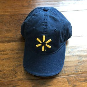 Walmart Navy blue baseball cap hat NEW adjustable